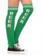 Gröna öl-drickar-strumpor - Maskeradtillbehör