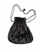Svart väska - Maskeradtillbehör