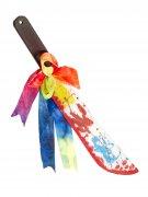 Clownes blodiga kniv - Halloweentillbehör