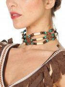 Indianhalsband med pärlor för vuxna