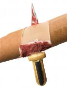 Kniv genom armen - Halloweentillbehör