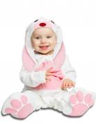 Lyxig rosa kanin - Maskeraddräkt för bebisar