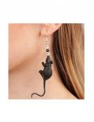 Råttor - Örhängen för vuxna till Halloween