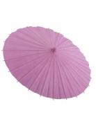 Rosa paraply i papper till maskeraden